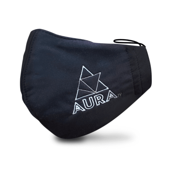 Aura IV Emroidered Facemasks